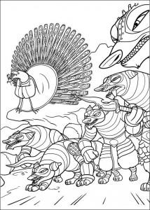 kleurplaat Kung Fu Panda 2 (27)