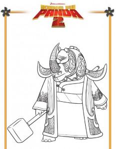 målarbok Kung Fu Panda 2 (6)