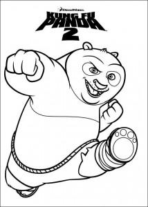 målarbok Kung Fu Panda 2 (2)