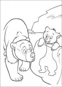 coloring page Smil speil