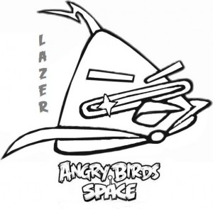 lazer coloring page