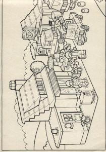 målarbok Lego (1)