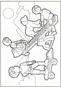 pagina da colorare Lego (13)