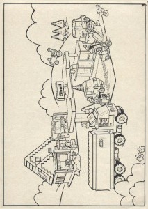 målarbok Lego (2)