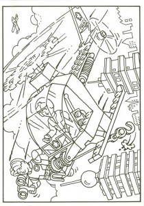 pagina da colorare Lego (36)