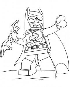målarbok lego batman 2