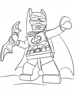 kleurplaat lego batman 2