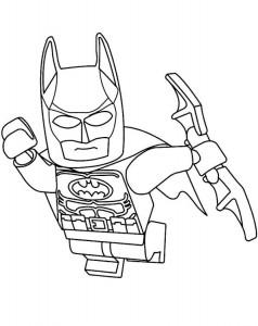 målarbok lego batman 3