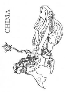 målarbok lego chima Cragger Speedorz