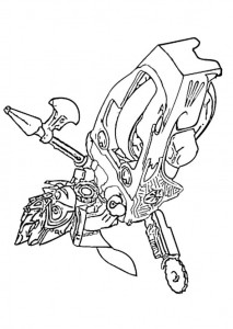 coloring page lego chima Lennox Speedorz