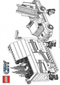 målarbok Lego City (1)