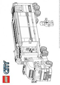 målarbok Lego City (10)
