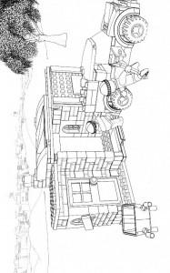 kleurplaat Lego City (22)