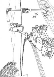 målarbok Lego City (3)