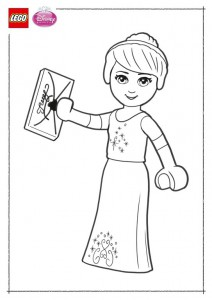 coloring page Lego Disney Princesses (4)