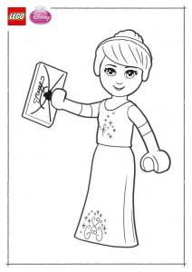 kleurplaat Lego Disney Prinsessen (4)