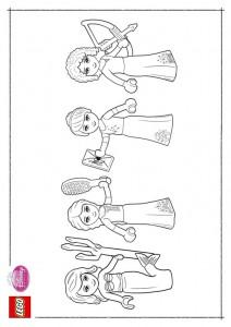målarbok Lego Disney Princesses (7)