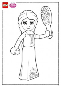 coloring page Lego Disney Princesses (8)