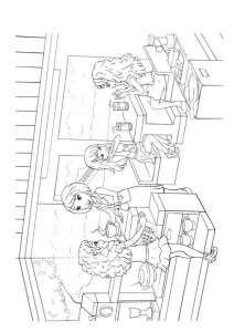 coloring page Lego Friends (1)