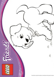 coloring page Lego Friends (12)