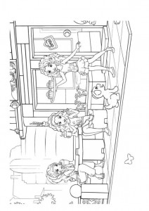 coloring page Lego Friends (2)
