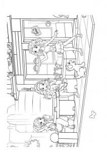 målarbok Lego Friends (2)