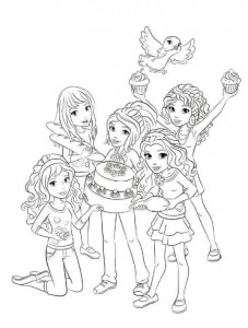 coloring page Lego Friends (3)