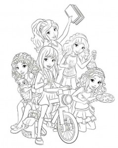 coloring page Lego Friends (4)