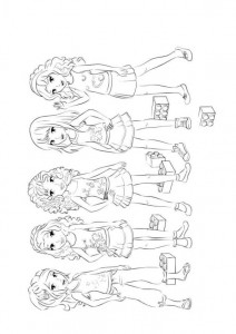 coloring page Lego Friends (5)