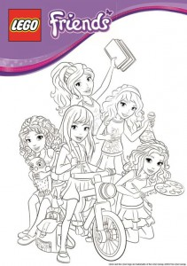 coloring page Lego Friends (6)