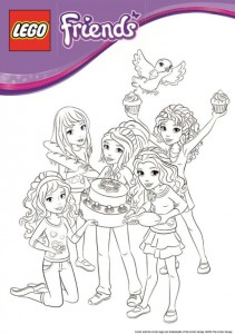 coloring page Lego Friends (7)