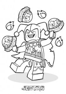 Disegno da colorare Lego Nexo Knights (1)