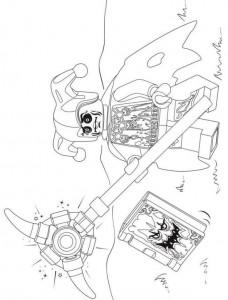 pagina da colorare lego nexo knights 11