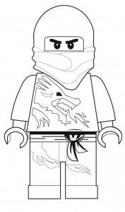 målarbok Lego Ninjago (1)