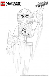 målarbok Lego Ninjago (12)