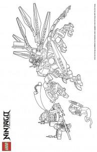 målarbok Lego Ninjago (19)