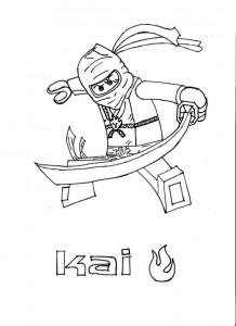 målarbok Lego Ninjago (6)