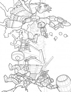 Coloriage Lego Knights (13)