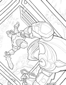 coloring page Lego Knights (3)