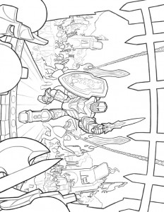 coloring page Lego Knights (4)