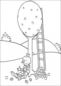 coloring page Tasty apples