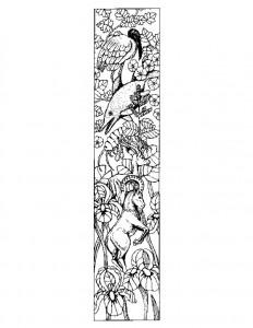 målarbok Bokstav I.