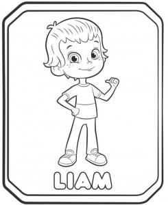 coloring page liam 2