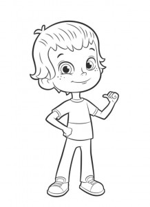coloring page liam