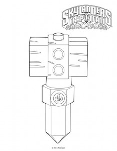 life hammer crystal coloring page