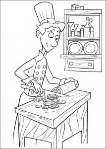 coloring page Linguini (1)