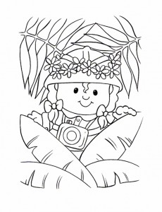 coloring page Little People (10)