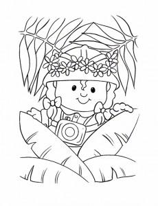 Dibujo para colorear Little People (10)