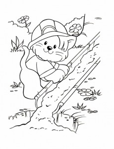 coloring page Little People (2)