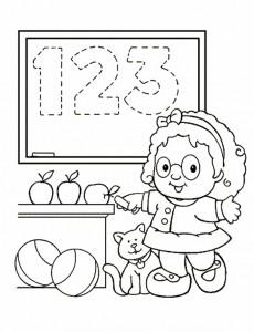 målarbok Little People (4)